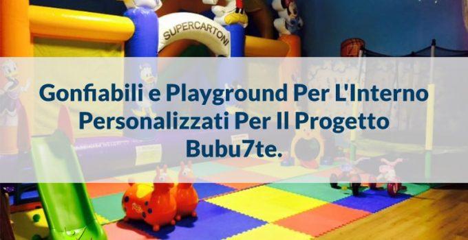 Playground Per l'Interno e Gioco Gonfiabile Per La Ludoteca Bubu7te