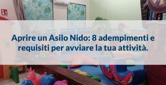 aprire un asilo nido 8 adempimenti requisiti