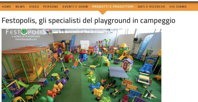 playground per campeggio camping business