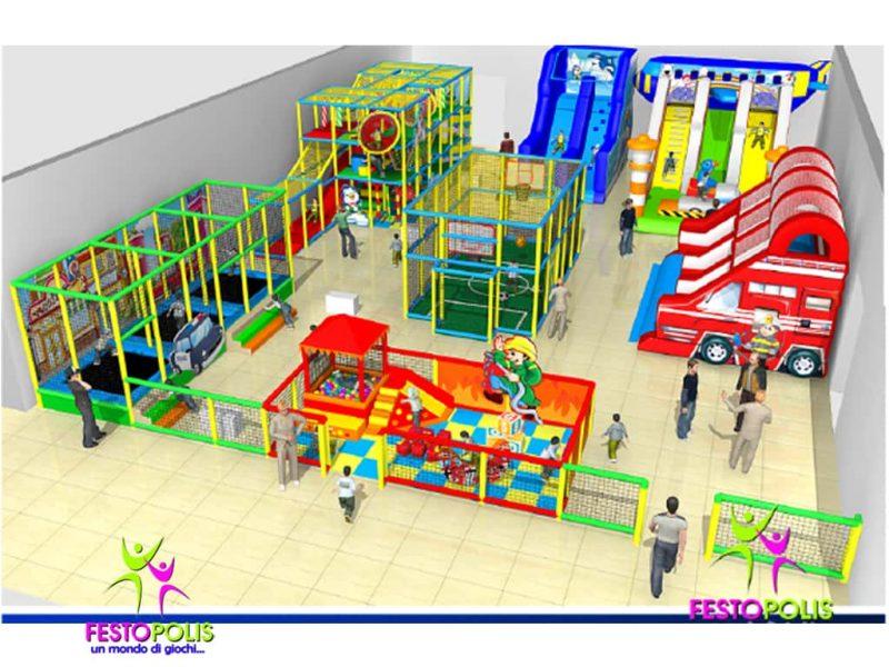 Playground Strutture Area Giochi Interno Festopoli 10