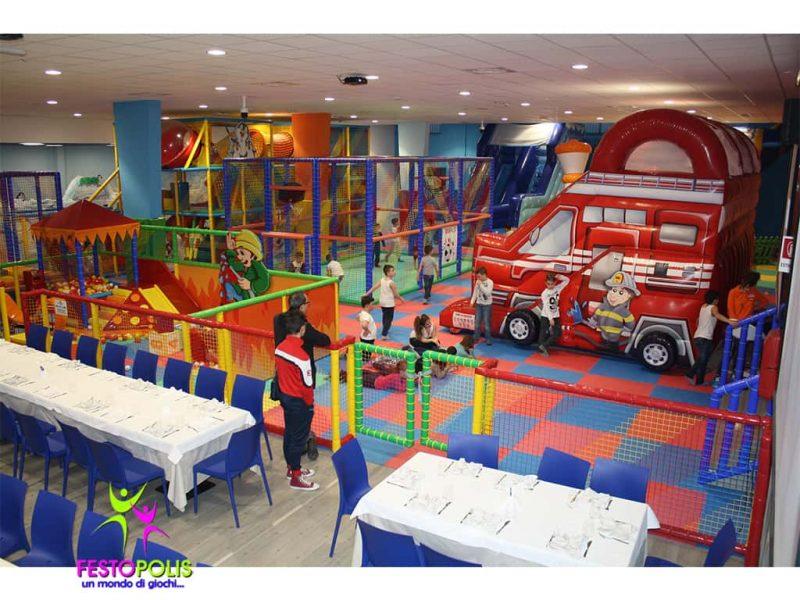 Playground Strutture Area Giochi Interno Festopoli 2