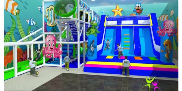 progettazione parco giochi al chiuso carrara 01