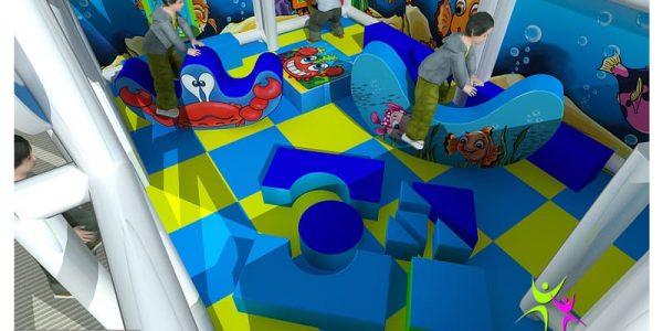 progettazione parco giochi al chiuso carrara 02