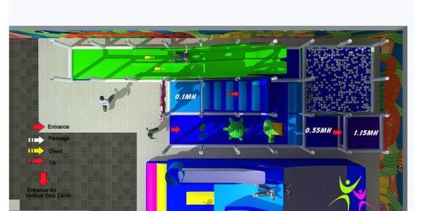 progettazione parco giochi al chiuso carrara 06