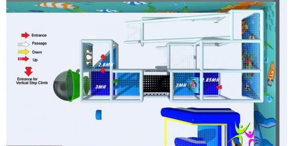 progettazione parco giochi al chiuso carrara 08