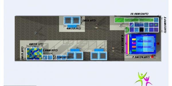 progettazione parco giochi al chiuso carrara 09