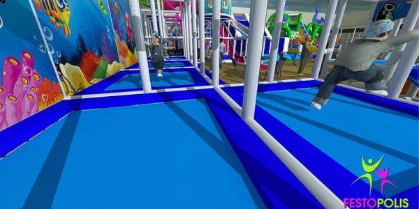 progettazione parco giochi al coperto blu park 03