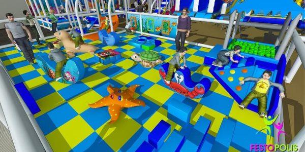 progettazione parco giochi al coperto blu park 05
