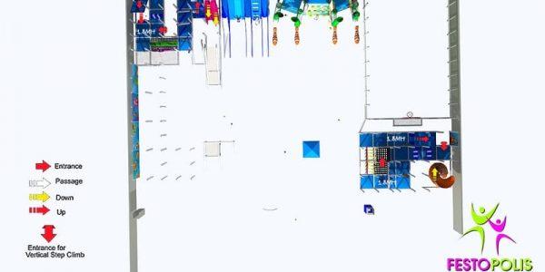 progettazione parco giochi al coperto blu park 07