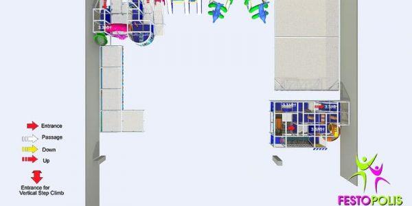 progettazione parco giochi al coperto blu park 08