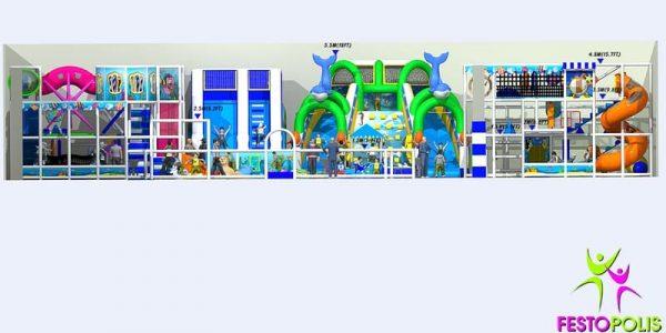 progettazione parco giochi al coperto blu park 09
