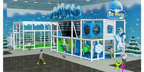 progettazione parco giochi al coperto era glaciale 01