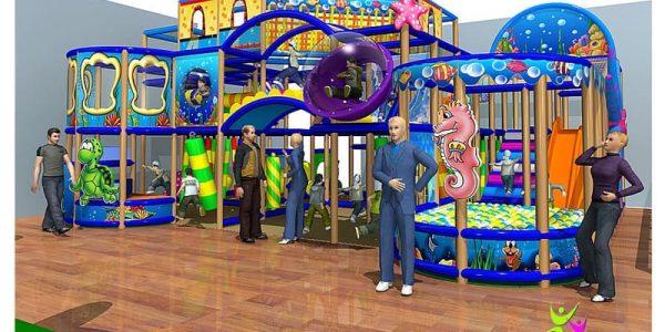 progettazione parco giochi al coperto gallicchio 01