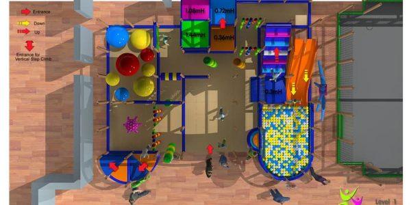 progettazione parco giochi al coperto gallicchio 02