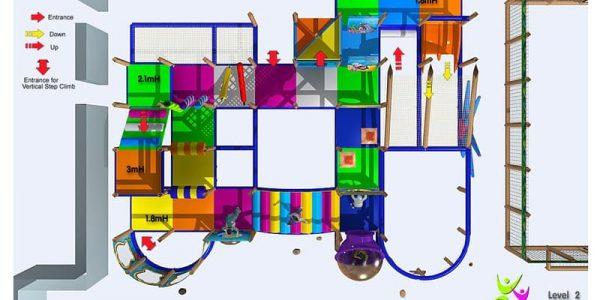 progettazione parco giochi al coperto gallicchio 03