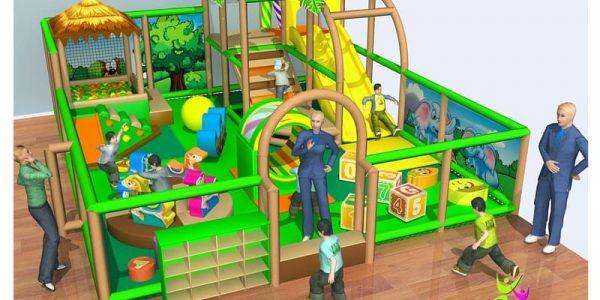 progettazione parco giochi al coperto gallicchio 09