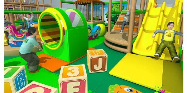 progettazione parco giochi al coperto gallicchio 10