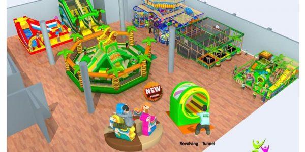 progettazione parco giochi al coperto gallicchio 13