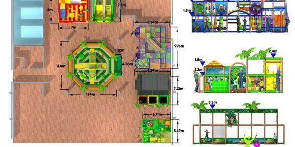 progettazione parco giochi al coperto gallicchio 14
