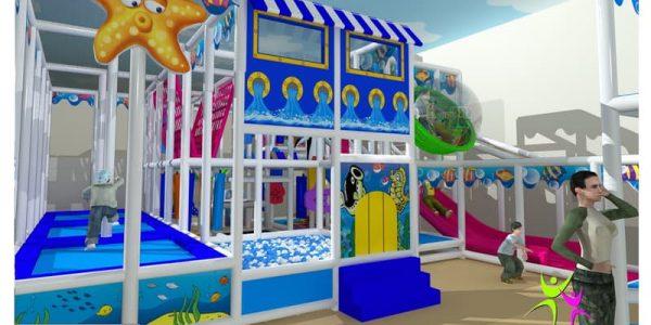 progettazione parco giochi al coperto pegasolandia 02