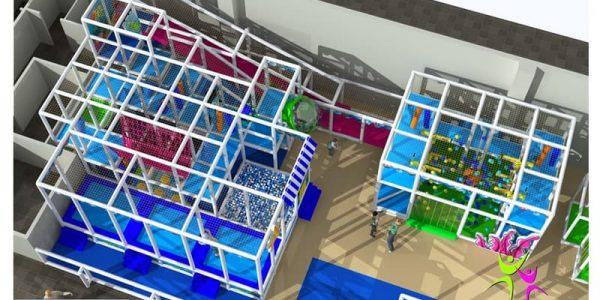 progettazione parco giochi al coperto pegasolandia 03