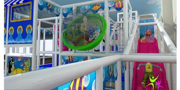 progettazione parco giochi al coperto pegasolandia 04