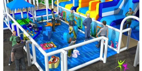 progettazione parco giochi al coperto pegasolandia 05