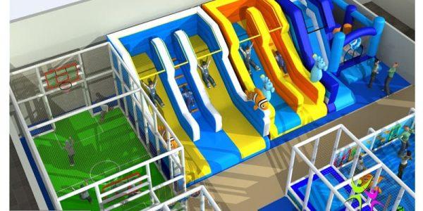 progettazione parco giochi al coperto pegasolandia 06
