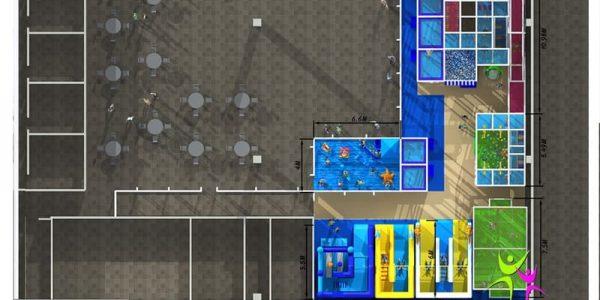 progettazione parco giochi al coperto pegasolandia 08