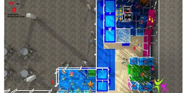 progettazione parco giochi al coperto pegasolandia 09