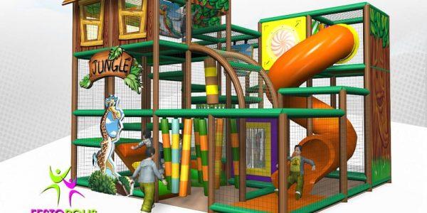 progettazione parco giochi coperto hakunamatata 02