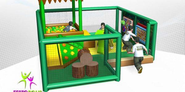 progettazione parco giochi coperto hakunamatata 03