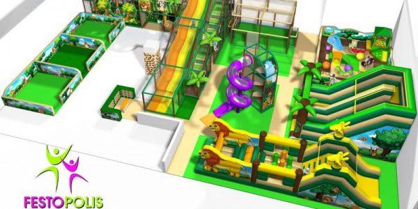 progettazione parco giochi interno zanzibar 01