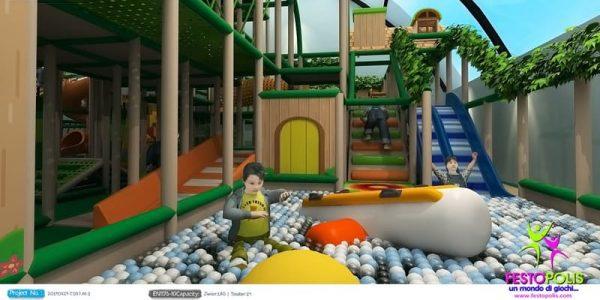 progettazione trampoline park ludoteca termoli 02