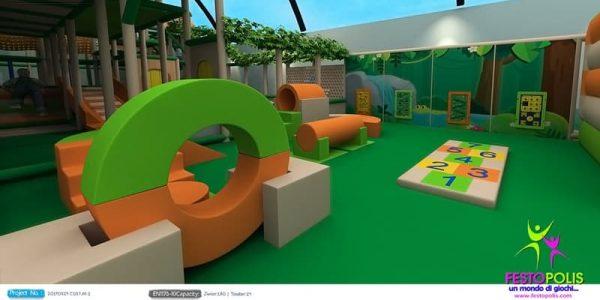 progettazione trampoline park ludoteca termoli 03