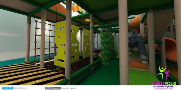 progettazione trampoline park ludoteca termoli 04