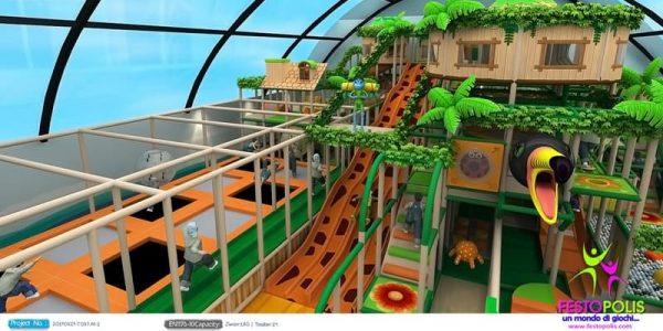 progettazione trampoline park ludoteca termoli 05