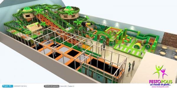 progettazione trampoline park ludoteca termoli 06