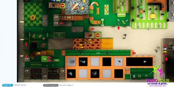 progettazione trampoline park ludoteca termoli 09