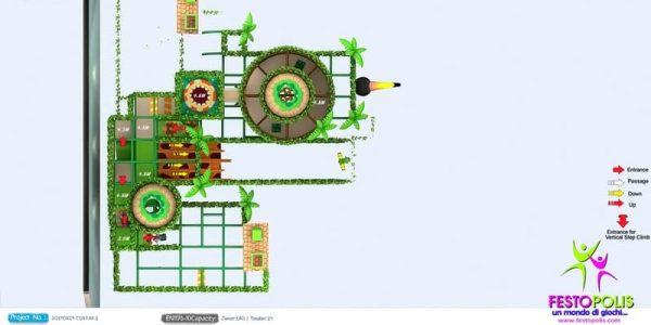 progettazione trampoline park ludoteca termoli 11