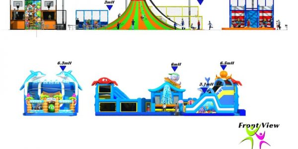 progettazione trampoline park san salvo 11